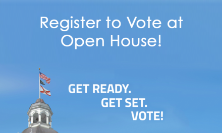 Register to Vote at Open House!