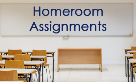 Homeroom Assignments now available!