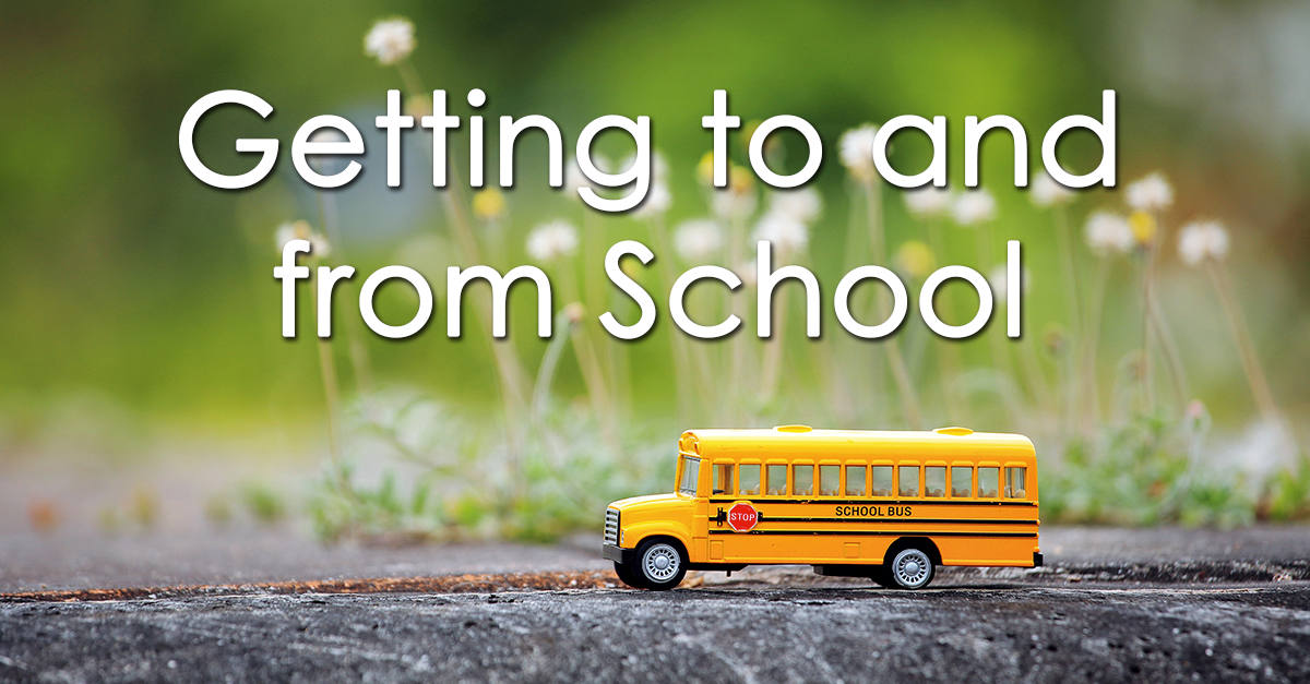 Bus Transportation, Drop-off, and Pick-up
