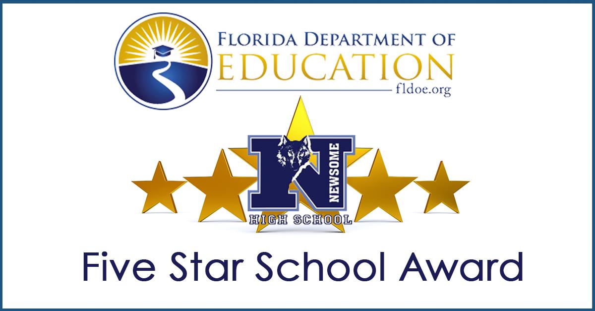NHS Receives 5 Star School Award