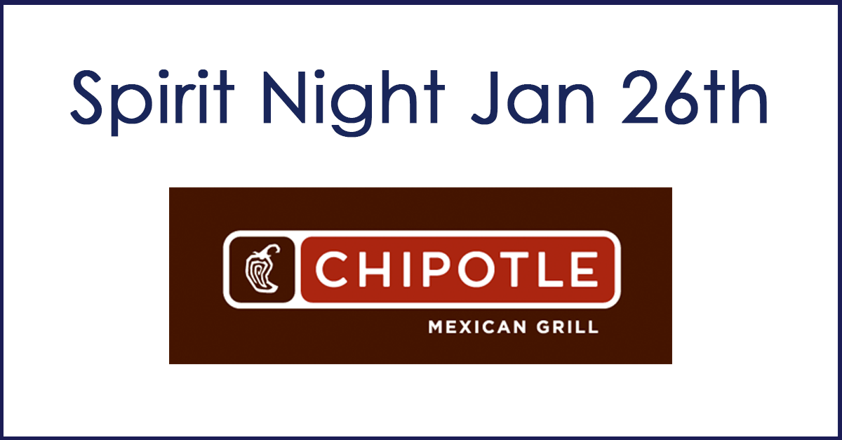 January Spirit Night