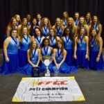 The Newsome Varsity Winterguard Team Concludes Season with an FFCC State Championship Win