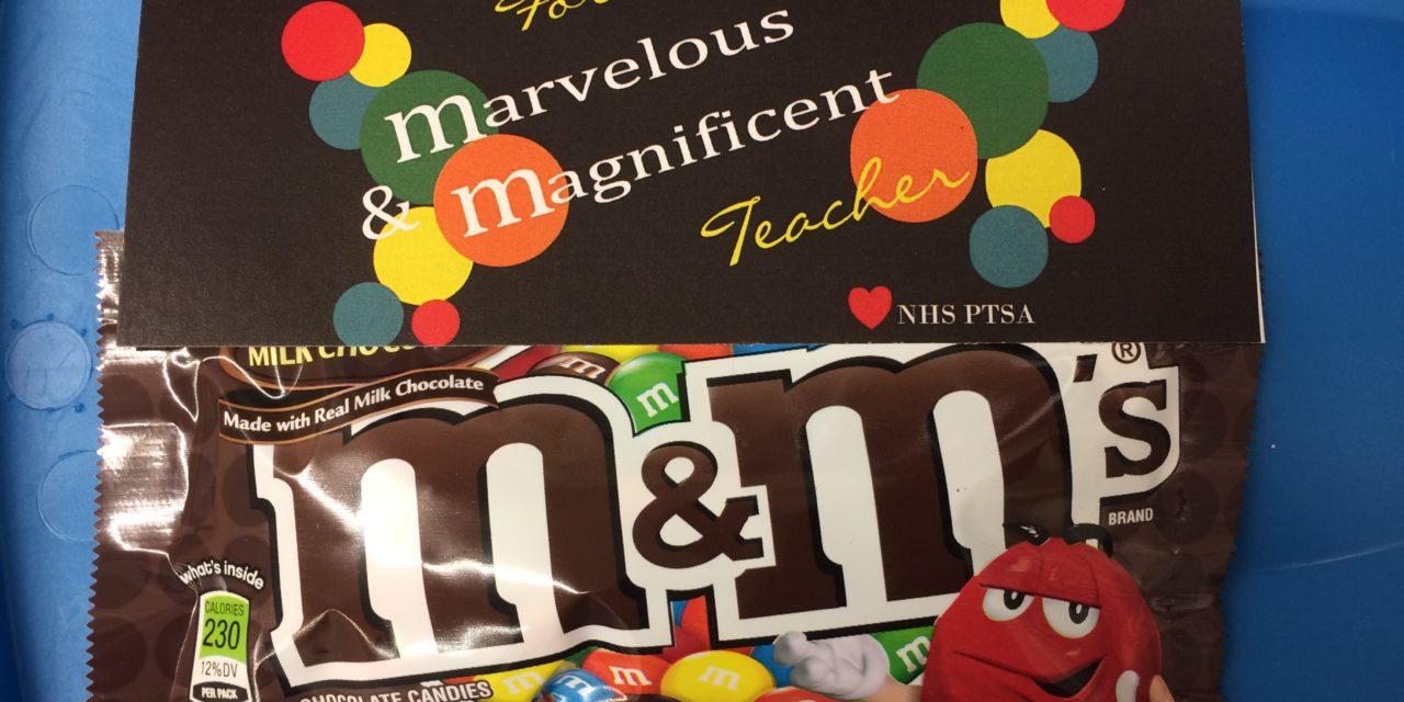 March Teacher Appreciation