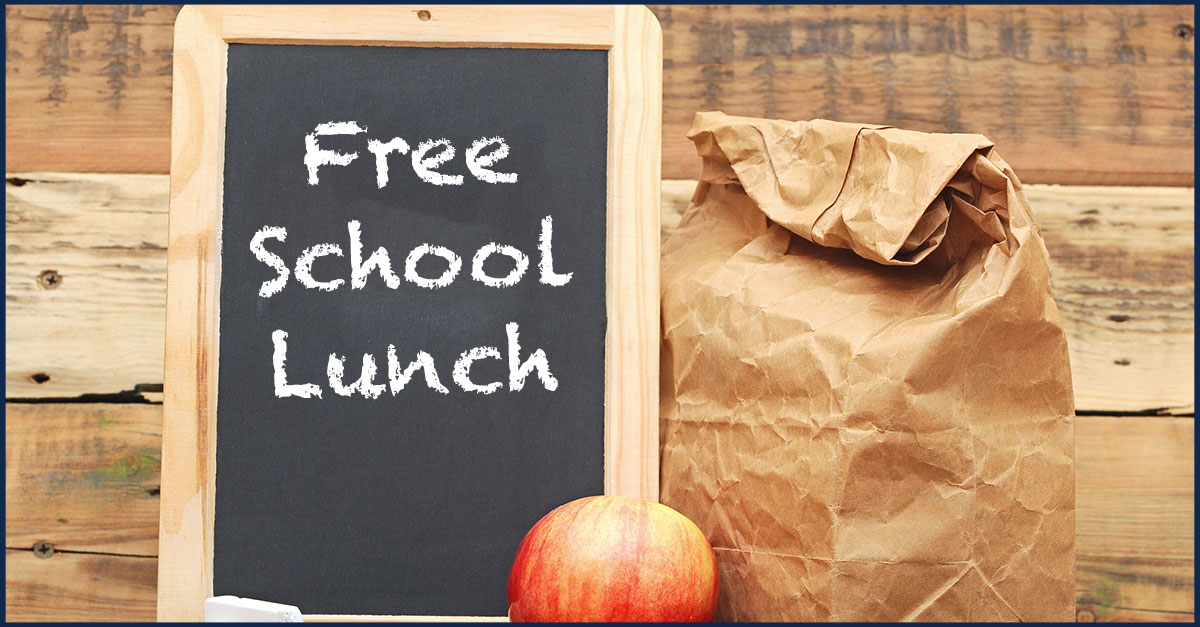 Free School Lunch for ALL Students Through October 20th