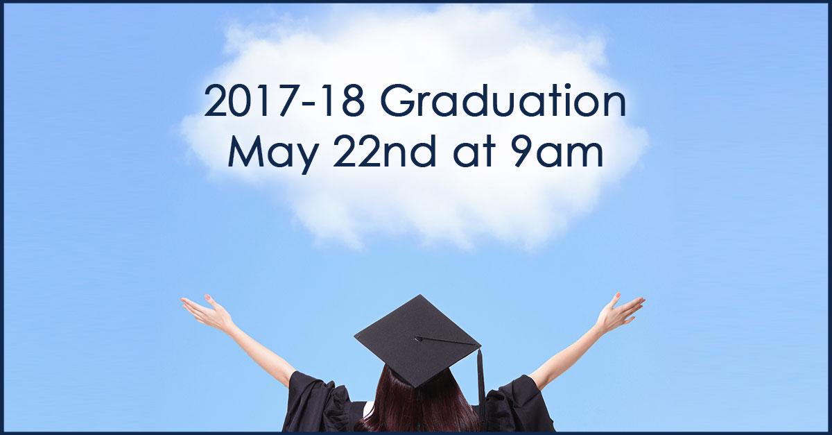 Class of 2018 Graduation Date Announced