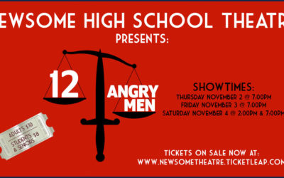 Newsome Theatre Presents 12 Angry Men November 2nd, 3rd, and 4th