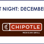 Spirit Night at Chipotle – Dec 4th